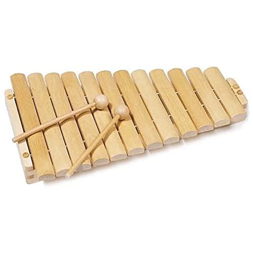goki 61969 - Musikinstrument - Xylophon mit 12...