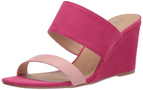 CL by Chinese Laundry Women's Wedge Sandal, Ice Pnk/Fuch, 8