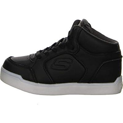 Skechers S Lights Energy Lights Ultra Kids Light Up Sneakers Black 1
