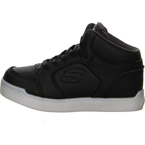 Skechers Energy Lights Hohe Sneaker, Schwarz (Black 90622l-Blk), 38 EU