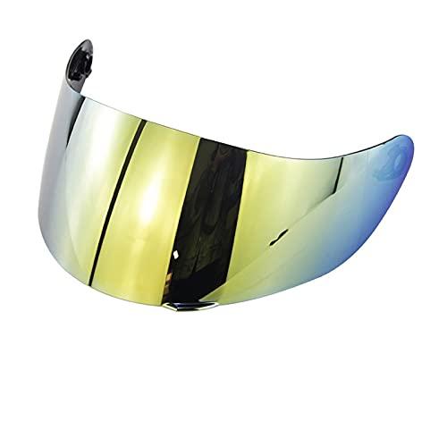 Helmets de moto Visor Moto Casco visores para A-G-V K1 K 3SV K5 Casco de motocicleta Lente anti-deslumbramiento a prueba de viento ORDENADOR PERSONAL Base de lentes Visores de motocicleta escudo
