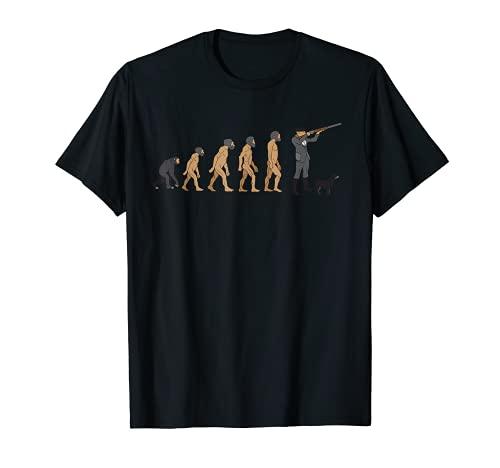 Evolución de la caza   Divertido para los cazadores Camiseta