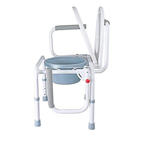N/Z Daily Equipment Household Elderly Toilet Folding Toilet Waterproof Nonlip Bath Chair 5 Adjustable