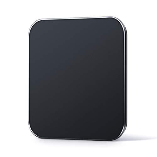 BingWS Básculas Digitales Básculas electrónicas de Alta precisión para baño Escala de Peso del baño Básculas de pesaje para Adultos con función Paso a Paso, Negro Monitores de diagnóstico y Salud