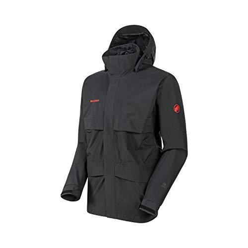 Mammut Men Heritage Hooded Hardshell Jacket Black