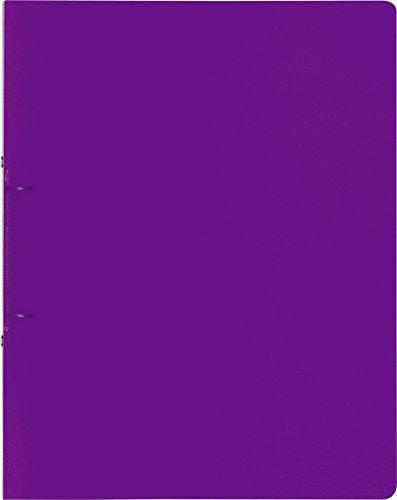 Brunnen 106550533 ringband FACT!pp (A4, doorschijnende PP-folie, 25 mm vulhoogte 16 mm paars