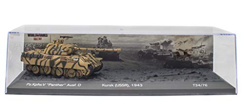 - Panther Battle of Kursk (USSR 1943) Carro Armato Militare 1:72 World of Tanks (OT1)