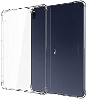 Huawei MatePad Pro Case Cover Clear View Shockproof Drop Protection Slim TPU Gel Bumper Scratch Resistant Cover for Huawei...