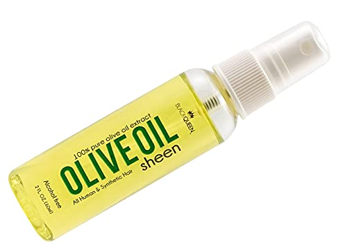 Black Queen Olive Oil Sheen 2 oz.