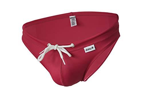 Carioca Cherry Badeanzug-Unterhose Dietz Lycra für Herren - Rot - Large