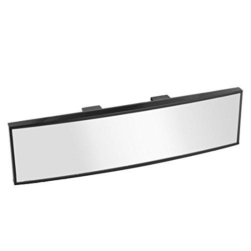 Auto-Rückspiegel - SODIAL (R) universeller, gebogener Rückspiegel zum Anschnallen, 260mm Breite, 65mm Höhe.