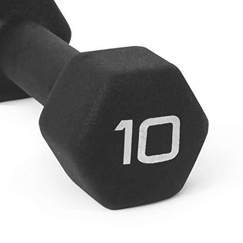 Product Image 5: CAP Barbell Black Neoprene Coated Single Dumbbell, 10 Pound