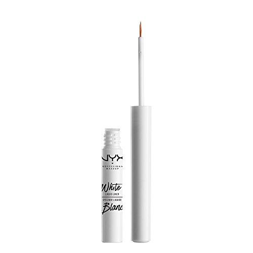 NYX PROFESSIONAL MAKEUP White Liquid Eyeliner, Vegan & Waterproof Formula