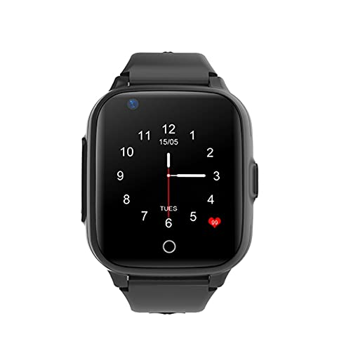 Ake Smart Watch Niño Ubicación Tracker 4G HD Video Call Reloj Niño Ubicación Teléfono Anti-Perdido Bebé GPS Seguimiento Reloj,C