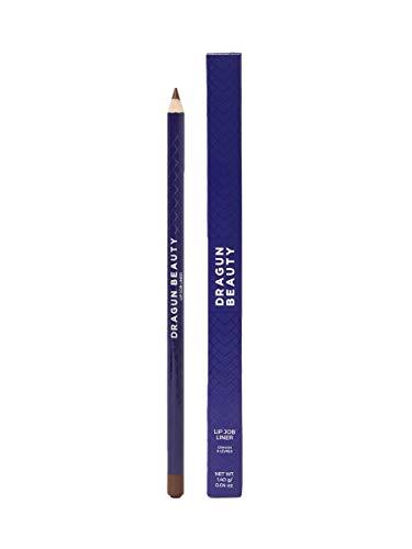 Dragun Beauty Dark Brown Lip Liner – Lip Job Liner 3.0 cc Lip Contour Pencil - Ultra Moisturizing Lip Liner Pencil – Waterproof Dark Brown Lip Liner – Gluten Free, Paraben Free