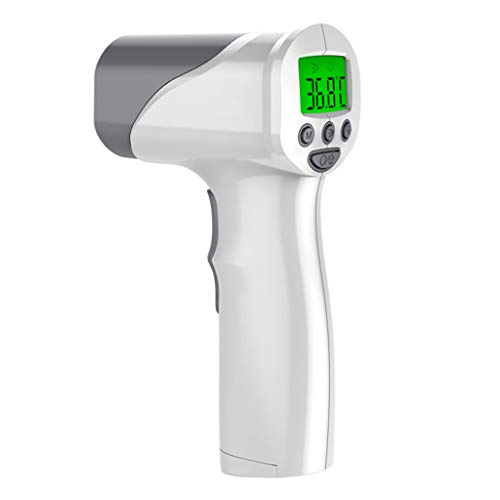 Review Of Forehead & Ear Infrared Thermometer,with LCD Display Fever Alarm Non-Contact Temperature M...