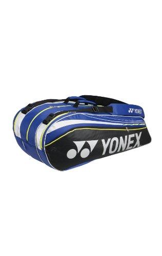YONEX Tennistasche Pro Thermobag 10er, blau/schwarz/weiß, 78 x 36 x 34.5 cm, 61 liters, 9229BL