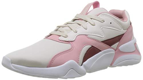 PUMA Nova Wn's, Zapatillas Deportivas para Mujer, Rosa (Pastel Parchment-Bridal Rose), 38...