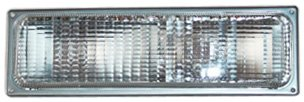 TYC 12-1411-01 Chevrolet/GMC Front Passenger Side Replacement Parking/Signal Lamp Assembly