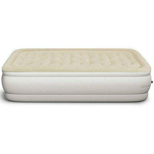 Fantastic Prices! AVGDeals Inflatable Quilt Top Raised Upgraded Luxury Airbed | Easy to Carry and St...