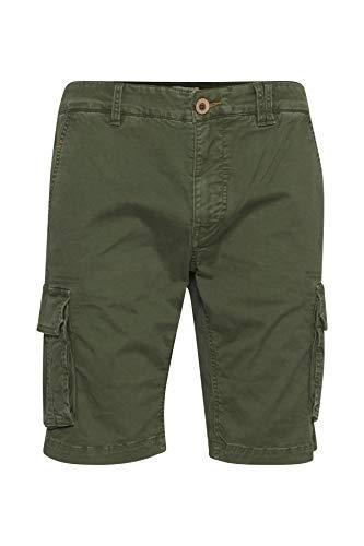 Blend Herren Cargo Shorts, Grün (Forest Green 77235), W(Herstellergröße: XL)