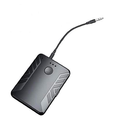 Lankater Multipunto con Micrófono Bluetooth 5.0 Receptor De Audio del Transmisor Inalámbrico para Adaptador De Pc TV Connect 2 Auriculares Estéreo De 3,5 Mm