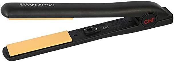 CHI Original Flat Hair Straightening Ceramic Iron 1 Inch Plates - for Styling, Professional Black