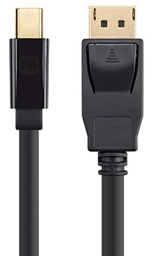 Monoprice 113373 Select Series Mini DisplayPort 1.2 to DisplayPort 1.2 Cable, 6',Black