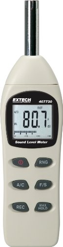 Extech 407730 Digital Sound Level Meter 40-130dB