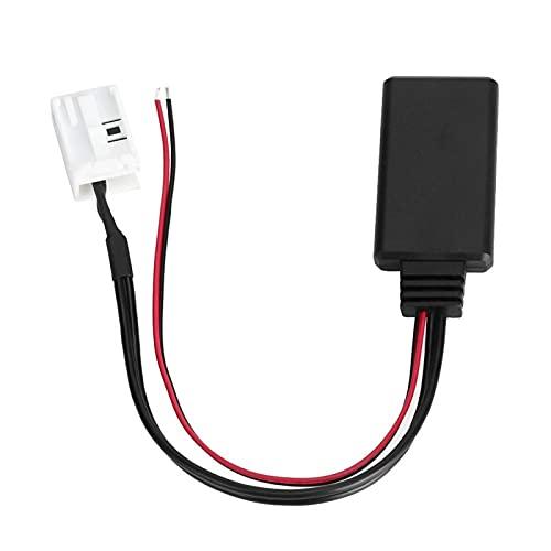 Cable de audio Cable de audio de 12 pines para accesorios de adaptador auxiliar Bluetooth apto para E60 E61 E63 04-10