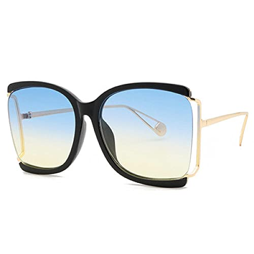 Powzz ornament 2021 Nuevas Gafas De Sol De Moda Mujeres S Glass Azules Protección UV Gafas-5