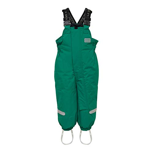 LEGO Wear Lego Duplo Tec Play Lwpan 704-Skihose/schneehose, Pantalon De Neige Mixte bébé, Vert (Dark Green 875), 86