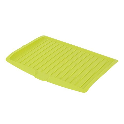 Changsin Kitchen Utility Draining Board|Light Weight, Space Efficient, Water Drain (Green)