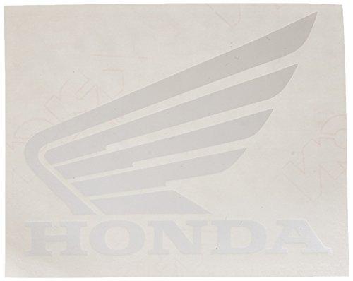 Factory Effex 04-2692 White 'Honda Wing' Die-Cut Dealer Sticker, (Pack of 3)