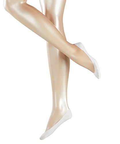 ESPRIT Damen Füßlinge Basic 2-Pack - Baumwollmischung, 2 Paar, Weiß (White 2000), Größe: 35-38