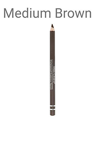 Miss Claire Waterproof Eyebrow Pencil 03 Medium, Brown