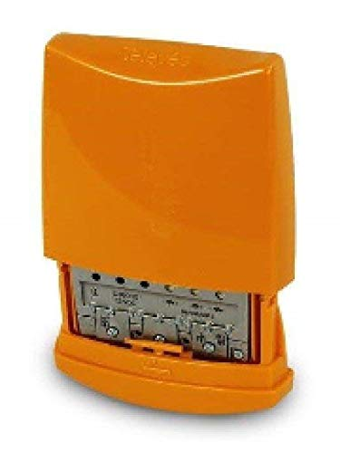 Televes 536041 - Amplificador mástil 12v 3e/1s b3/dab-u-u g25db