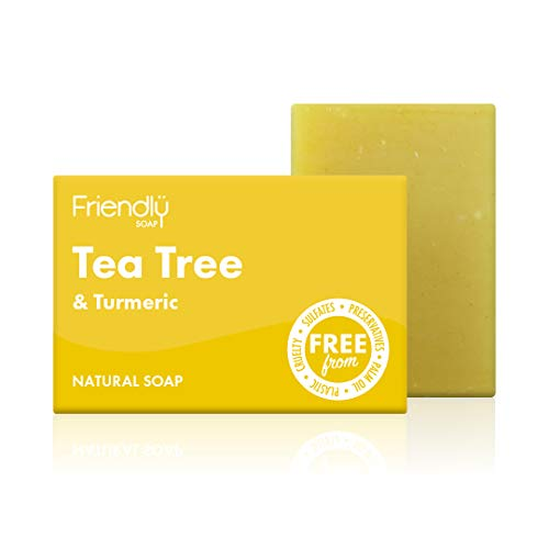 Friendly Soap Natural Tea Tree & Turmeric Soap 95g,