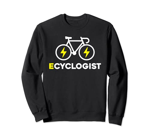 Eciclogista e-bike rider Sudadera