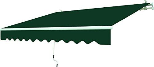 GARDEN friend T1372011/A Tenda da Sole, Verde Unito, 200x15x250 cm