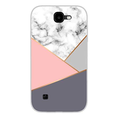 Todo Phone Store Hülle Schutzhülle Design LED UV Druck Silikon Zeichnung TPU Gel [TEXTUREN 004] für LG K3 (2017) 3G