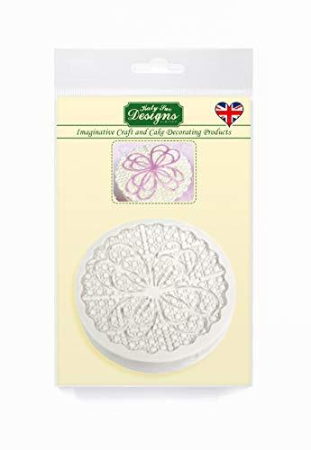 Anastasia Cake Topper siliconen mal voor het versieren van cupcakes, suikerwerk, snoepjes, chocolade, kaarten maken en klei, voedselveilig goedgekeurd, gemaakt in het Verenigd Koninkrijk