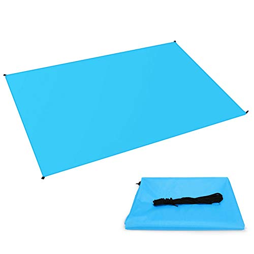 JTYX picknickdeken, tent, baldakijn, waterdicht, ultra lichtgewicht, outdoor, camping, uitrusting, picknickmat
