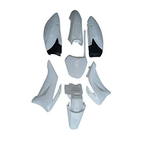 WPHMOTO Plastics Fender Body Kit for Pit Bike Yamaha TTR-R110E (White)