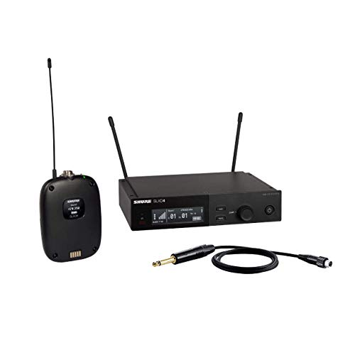 Shure SLXD14 Wireless System with Bodypack and WA305 Instrument Cable for Guitar/Bass