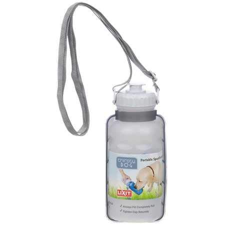 Lixit Portable Sport Bottle for Dogs, 20 Oz (Thirsty Dog)
