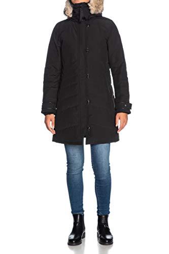 Canada Goose Mittelgroßer Damen-Parka Lorette Black Label schwarz, Parka, Schwarz S
