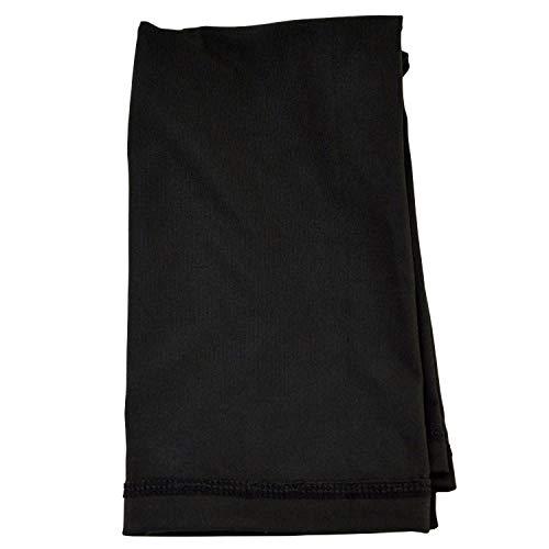 NASS® Multifunktionstuch/Schlauch-Maske/Multi-Scarf I Gesichts- und Kälteschutz I Farbe: Schwarz