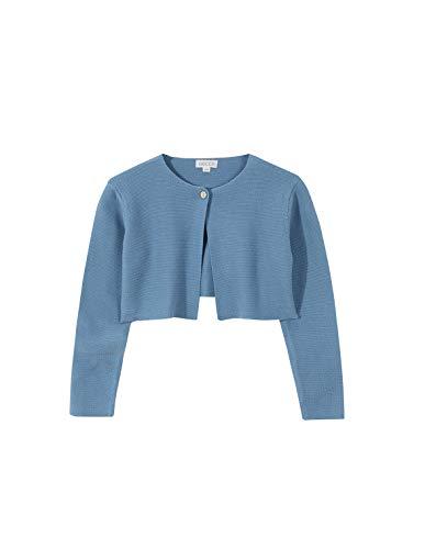 Gocco Chaqueta Punto Bobo, Azul (Turquesa S03jchca301zr), 7 años (Tamaño del Fabricante: T: 7-8) para Niñas