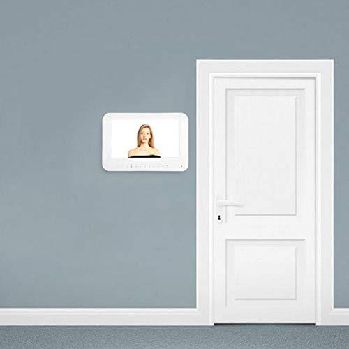 SALUTUYA Intercomunicador bidireccional Video del teléfono de la Puerta de la Alarma antirrobo, para los hoteles, para el(Australian regulations)